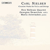 Nielsen: Chamber Works for Violin and Strings / Demertzis