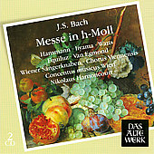 Bach: Mass in B minor / Harnoncourt, Hansmann, et al