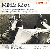 R&oacute;zsa: Orchestral Works Vol 1 / Gamba, BBC PO