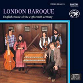 English Music of the 18th Century / The London Baroque