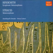 Hindemith: Symphonic Metamorphoses; Strauss: Metamorphoses