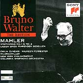 Bruno Walter Edition - Mahler: Symphonies 1 & 2, etc