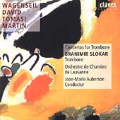 Concertos for Trombone / Slokar, Auberson, Lausanne CO