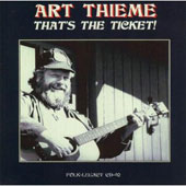 Art Thieme: That's the Ticket