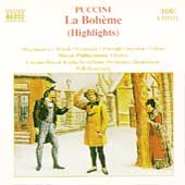 Puccini: La Boh&egrave;me (Highlights) / Humburg, Orgonasova, et al
