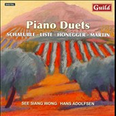 Schaeuble, Liste, Honegger & Martin: Piano Duets / See Siang Wong, Hans Adolfsen