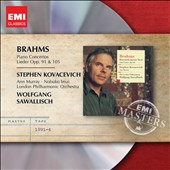 Brahms: Piano Concertos 1 & 2; Lieder Opp. 91 & 105 / Stephen Kovacevich, piano; Ann Murray, soprano