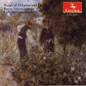 Songs of Debussy and Fauré / Benita Valente, Lydia Artymiw