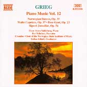 Grieg: Piano Music Vol 12 / Einar Steen-Nokleberg, et al