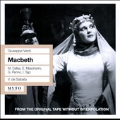 Verdi: Macbeth / Callas, Mascherini, Penno, Tajo, de Sabata