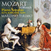 Mozart in Munich: Piano Sonatas