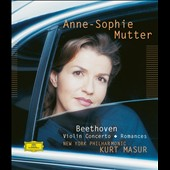 Beethoven: Violin Concerto / Anne Sophie Mutter, violiin; Masur, NY PO [Blu-ray Audio]