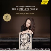 Carl Philipp Emanuel Bach: The Complete Works for Piano Solo / Ana-Maria Markovina, piano