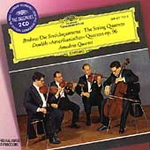 Brahms: The String Quartets;  Dvorak / Amadeus Quartet