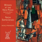 Woman at the New Piano: American Music of 2013' - Flaherty: Airdancing; Part Suite-a for solo piano; A. Schoenberg: Picture Etudes; Bounce for two pianos; Matheson: Cretic Variations / Nadia Shpachenko, Genevieve Feiwen Lee, pianos