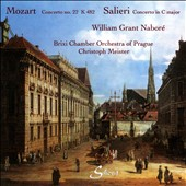 Mozart: Concerto No. 22 K 482; Salieri: Concerto in C major