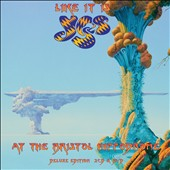 Yes: Like It Is: Yes at the Bristol Hippodrome [CD/DVD] [Digipak]