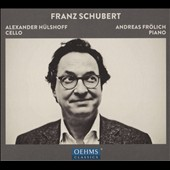 Franz Schubert: An die Musik, D.547; Arpeggione Sonata, D.821; Song transcriptions for cello & piano / Alexander Hulshoff, cello; Andreas Frolich, piano