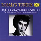 Bach: The Well-Tempered Clavier 1 & 2 / Rosalyn Tureck
