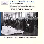 Bach: Cantatas BWV 82, 83, 125, 200 / Gardiner, et al