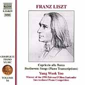 Liszt: Complete Piano Music Vol 16 / Yung Wook Yoo
