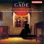Gade: Symphonies Vol 1 - no 2 and 8, etc / Hogwood