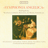 Symphonia Angelica - Marenzio, De Monte, etc / Jungh&#228;nel