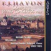Haydn: Complete Piano Concertos Vol 2 /Palumbo, Theis, et al