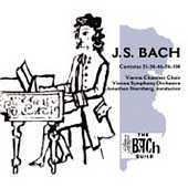 The Bach Guild - Bach: Cantatas Vol 1 / Sternberg, et al