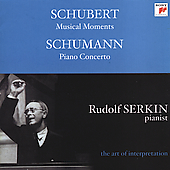 The Art of Interpretation - Schubert, Schumann / Serkin