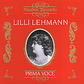 Prima Voce - Lilli Lehmann