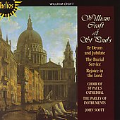 William Croft at St. Paul's / John Scott, St. Paul's Choir