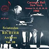 Legendary Treasures - Sviatoslav Richter Archives Vol 10