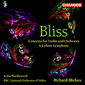 Bliss: Violin Concerto, etc / Mordkovitch, Hickox, et al