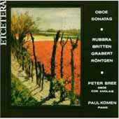 Oboe Recital / Peter Bree, Paul Komen