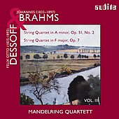 Brahms, Herzogenberg: String Quartets / Mandelring Quartet