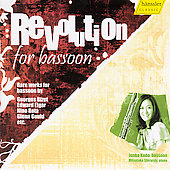 Revolution for Bassoon - Rathaus, Rota, Elgar, etc / Kundo