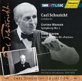 Carl Schuricht-Collection - Mahler: Symphony no 2;  Haydn