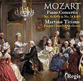Mozart: Piano Concerto no 24 & 16, etc / Tirimo, et al