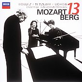 Mozart, Berg: Works for 13 Wind Instruments / Boulez, Tetzlaff, Uchida, Ensemble InterContemporain