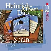 SCENE Spain - Boccherini, Tarrega, Albeniz, Torroba, Espla, etc / Heinrich Albert Guitar Duo