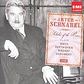 Icon - Artur Schnabel plays Bach, Beethoven, Mozart, Schubert
