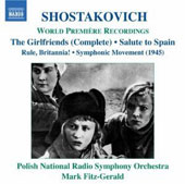 Mark Fitz-Gerald: Shostakovich: The Girlfriends; Salute to Spain