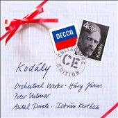 Kodaly: Orchestral Works / Istv&aacute;n Kert&eacute;sz, Antal Dorati
