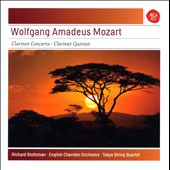 Mozart: Clarinet Concerto; Clarinet Quintet / Richard Stoltzman, clarinet. English CO; Tokyo Quartet