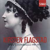 Kirsten Flagstad Vol 3 - Live Performances 1948-1957