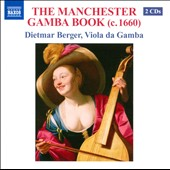 The Manchester Gamba Book / Dietmar Berger, viola da gamba