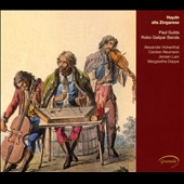 Haydn alla Zingares  - works of Haydn contrasted with traditional Hungarian gypsy music / Paul Gulda, piano; Robert Gaspar Band