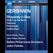 Gershwin: Rhapsody in Blue; Promenade; Catfish Row / Orion Weiss, piano; John Fullam, clarinet [Blu-Ray Audio]
