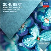 Schubert: Moments Musicaux; Piano Sonata, D.960 / Alfred Brendel